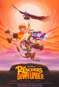 The Rescuers Down Under - 27 x 40 Movie Poster - Style A