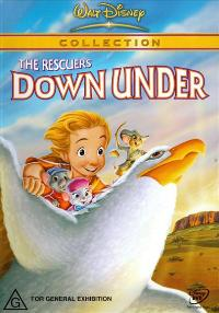 The Rescuers Down Under - 27 x 40 Movie Poster - Style C