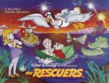 Rescuers, The - 30 x 40 Movie Poster UK - Style A