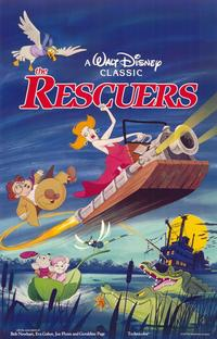 Rescuers, The - 11 x 17 Movie Poster - Style B