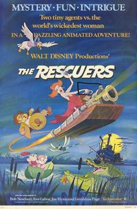 Rescuers, The - 11 x 17 Movie Poster - Style D