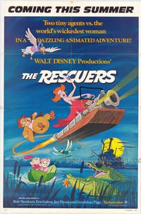 Rescuers, The - 43 x 62 Movie Poster - Bus Shelter Style A