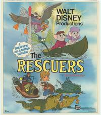 Rescuers, The - 43 x 62 Movie Poster - Bus Shelter Style B
