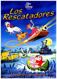 Rescuers, The - 27 x 40 Movie Poster - Spanish Style A