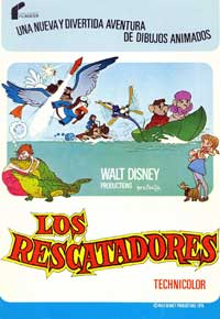 Rescuers, The - 11 x 17 Movie Poster - Spanish Style B