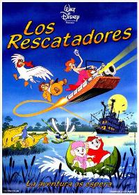 Rescuers, The - 27 x 40 Movie Poster - Spanish Style B