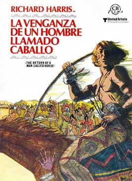 The Return of a Man Called Horse - 11 x 17 Movie Poster - Spanish Style A