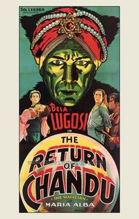 The Return of Chandu - 43 x 62 Movie Poster - Bus Shelter Style A