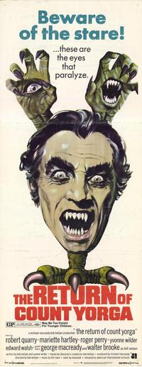 The Return of Count Yorga - 14 x 36 Movie Poster - Insert Style A