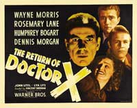 The Return of Doctor X - 22 x 28 Movie Poster - Half Sheet Style A