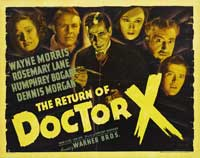 The Return of Doctor X - 22 x 28 Movie Poster - Half Sheet Style B
