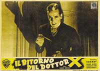 The Return of Doctor X - 11 x 14 Poster Italian Style A