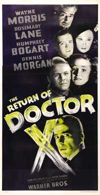 The Return of Doctor X - 11 x 17 Movie Poster - Spanish Style A