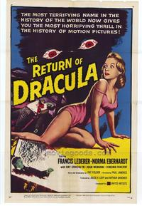 The Return of Dracula - 27 x 40 Movie Poster - Style A