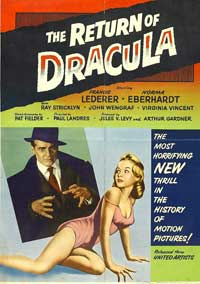 The Return of Dracula - 11 x 17 Movie Poster - Style B