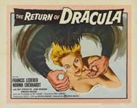 The Return of Dracula - 22 x 28 Movie Poster - Half Sheet Style A