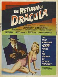 The Return of Dracula - 27 x 40 Movie Poster - Style B