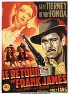 The Return of Frank James - 27 x 40 Movie Poster - French Style A