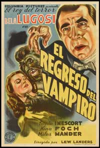 The Return of Frank James - 27 x 40 Movie Poster - Spanish Style A
