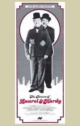 The Return of Laurel and Hardy - 11 x 17 Movie Poster - Style A