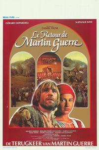 The Return of Martin Guerre - 11 x 17 Movie Poster - Belgian Style A