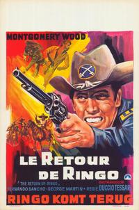 The Return of Ringo - 11 x 17 Movie Poster - Belgian Style A