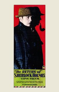 The Return of Sherlock Holmes - 43 x 62 Movie Poster - Bus Shelter Style A