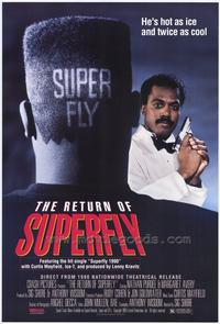 The Return of Superfly - 11 x 17 Movie Poster - Style A