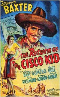 The Return of the Cisco Kid - 27 x 40 Movie Poster - Style A