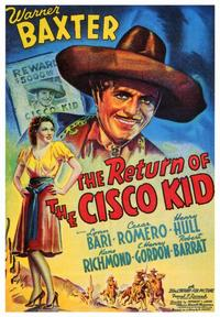The Return of the Cisco Kid - 43 x 62 Movie Poster - Bus Shelter Style A