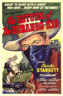 The Return of the Durango Kid - 11 x 17 Movie Poster - Style A