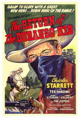 The Return of the Durango Kid - 27 x 40 Movie Poster - Style A
