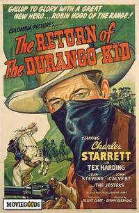 The Return of the Durango Kid - 43 x 62 Movie Poster - Bus Shelter Style A