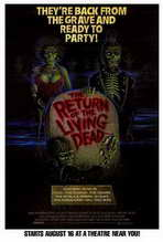 The Return of the Living Dead - 27 x 40 Movie Poster - Style B