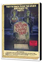 The Return of the Living Dead - 27 x 40 Movie Poster - Style A - Museum Wrapped Canvas