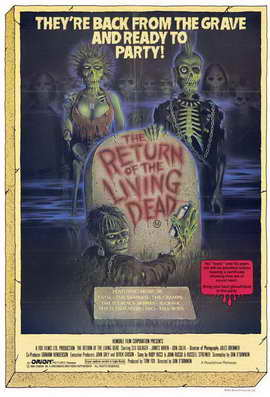The Return of the Living Dead - 11 x 17 Movie Poster - Style A