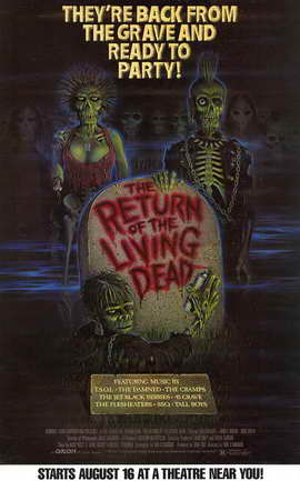 The Return of the Living Dead - 11 x 17 Movie Poster - Style B