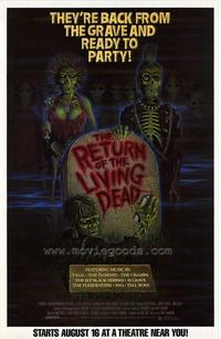 The Return of the Living Dead - 43 x 62 Movie Poster - Bus Shelter Style A