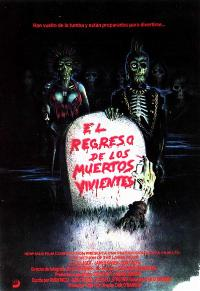 The Return of the Living Dead - 27 x 40 Movie Poster - Spanish Style A