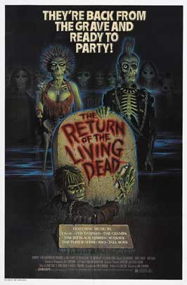 The Return of the Living Dead - 27 x 40 Movie Poster - Style C