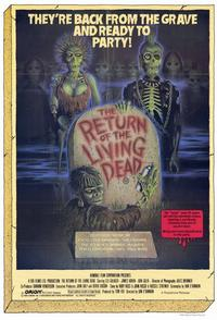 The Return of the Living Dead - 11 x 17 Movie Poster - Style A - Museum Wrapped Canvas
