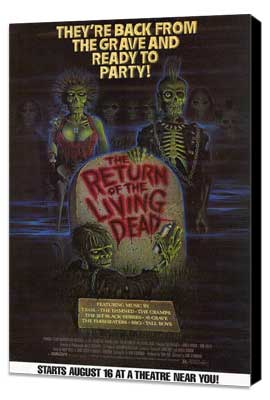 The Return of the Living Dead - 11 x 17 Movie Poster - Style B - Museum Wrapped Canvas