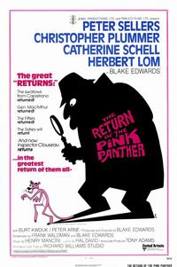The Return of the Pink Panther - 11 x 17 Movie Poster - Style A