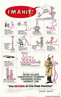 The Return of the Pink Panther - 11 x 17 Movie Poster - Style C