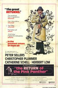 The Return of the Pink Panther - 11 x 17 Movie Poster - Style B