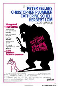 The Return of the Pink Panther - 27 x 40 Movie Poster - Style A