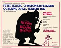 The Return of the Pink Panther - 22 x 28 Movie Poster - Half Sheet Style A