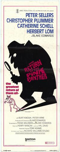 The Return of the Pink Panther - 14 x 36 Movie Poster - Insert Style A