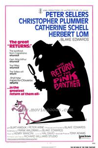 The Return of the Pink Panther - 43 x 62 Movie Poster - Bus Shelter Style A
