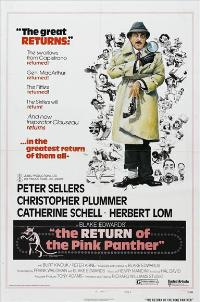 The Return of the Pink Panther - 27 x 40 Movie Poster - Style C